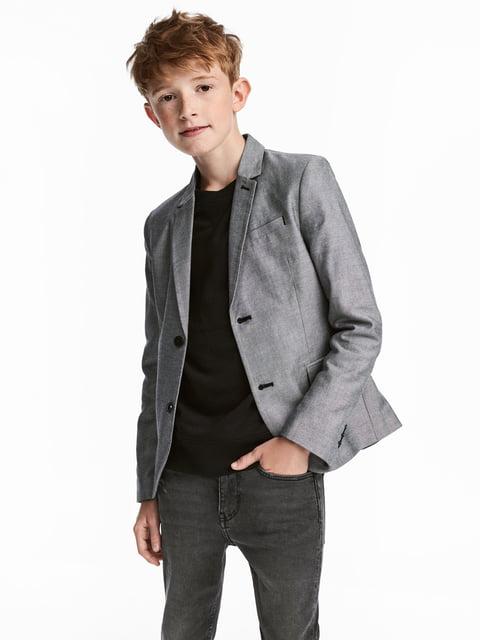 Пиджак серый H&M 5186791