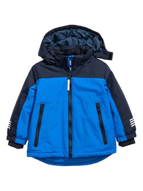Куртка синя H&M 5186930