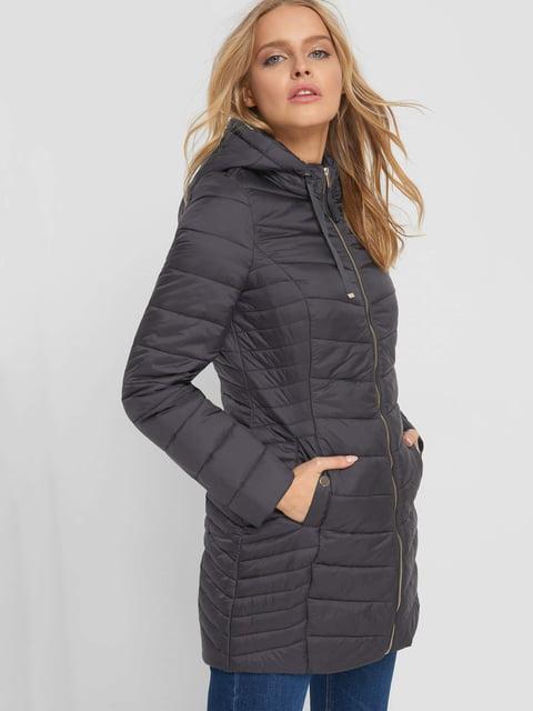 Куртка сіра Orsay 5187220