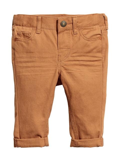 Штани коричневі H&M 5186501