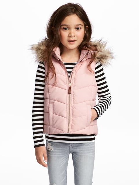 Жилет розовый H&M 5186648