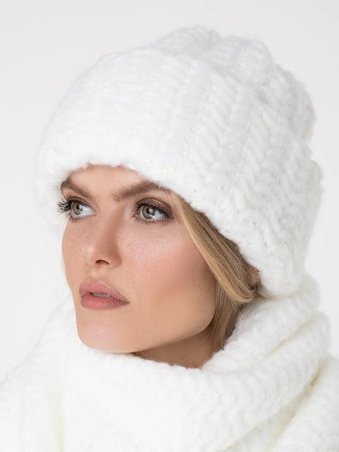 Шапка біла Sewel 5188796