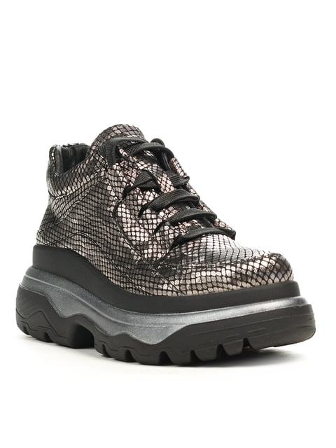Кросівки кольору нікелю Maurizi 5169498