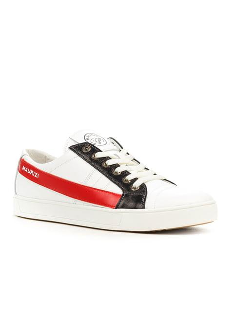 Кеды бело-красные Maurizi 5180970