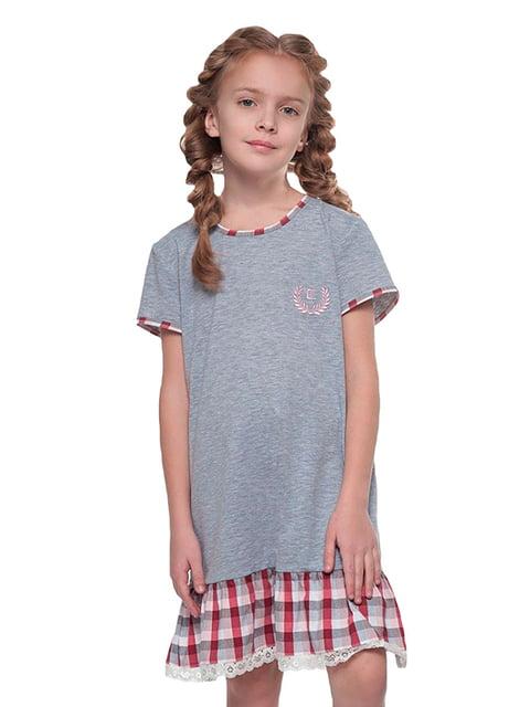 Ночная рубашка серая Ellen 5182897