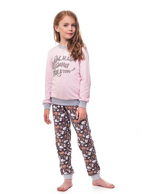Комплект: лонгслив и брюки Ellen 5182904