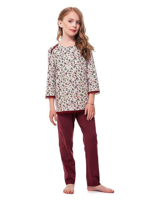 Комплект: лонгслив и брюки Ellen 5182905
