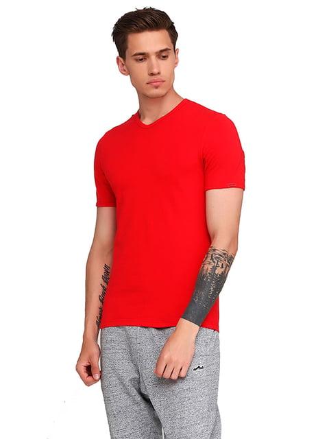 Футболка красная Cornette 5191897
