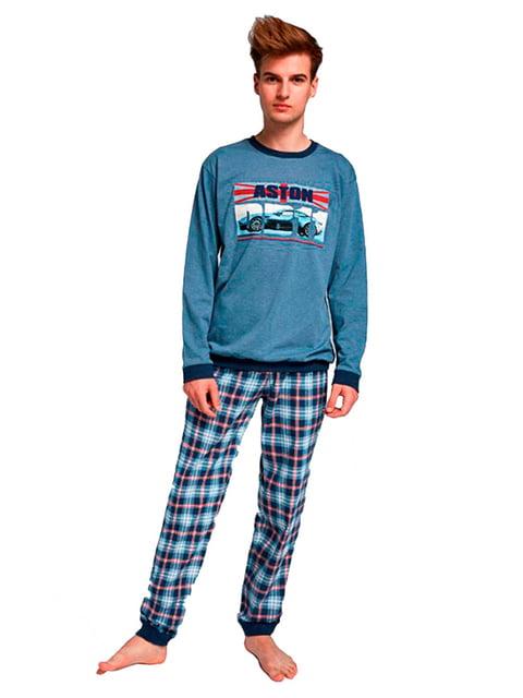 Комплект: лонгслив и брюки Cornette 5191975