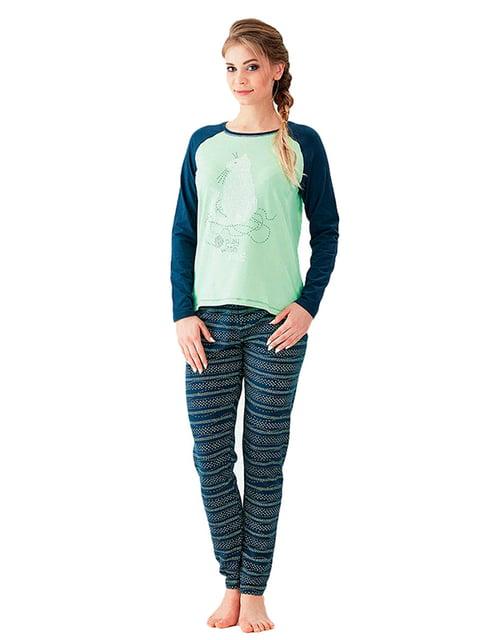 Комплект: лонгслив и брюки Key 5192174