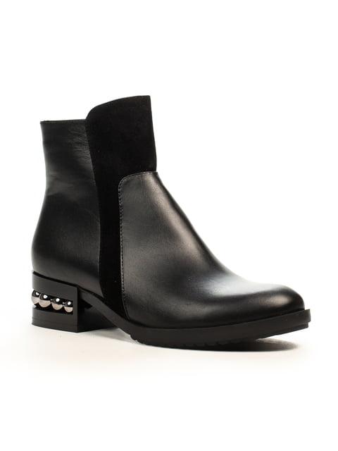 Ботинки черные Fabiani 5178070
