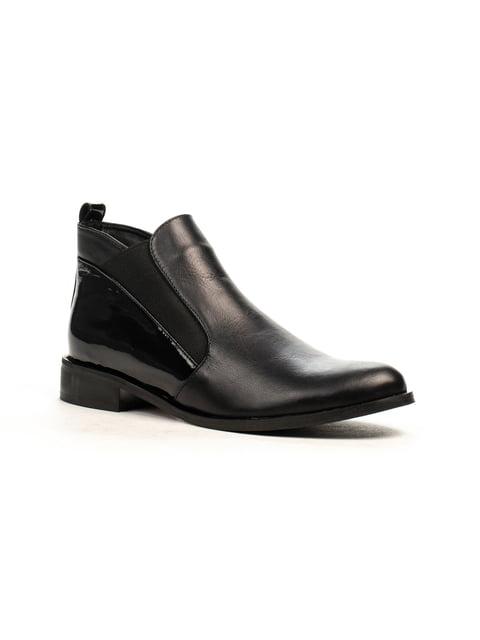 Ботинки черные Fabiani 5178069