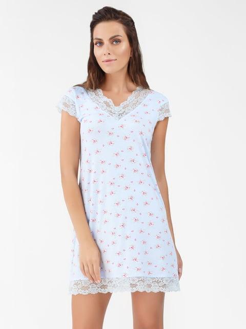 Сорочка нічна у принт Ellen 5192282