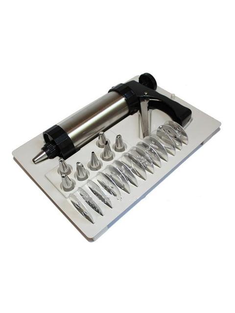 Кондитерський шприц із насадками Веселі подарунки 5168159