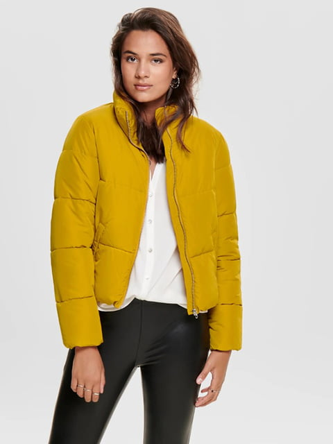 Куртка жовта Only 5177497
