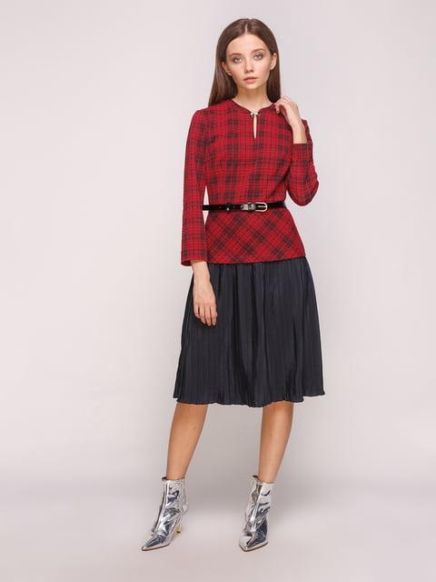 Платье черно-бордовое Dolcedonna 5168222