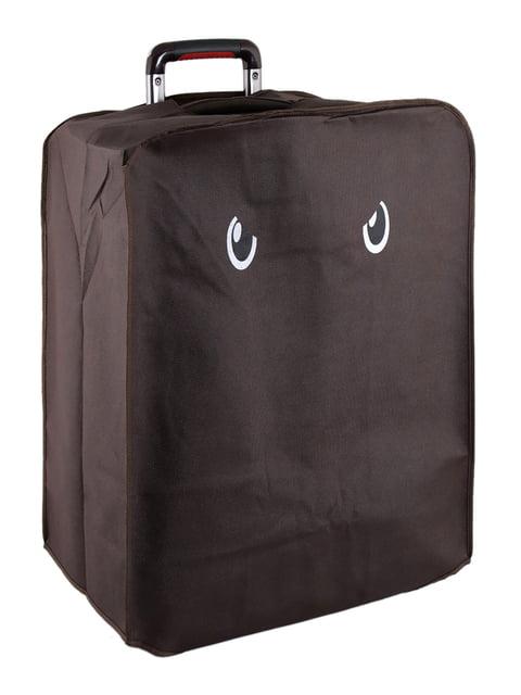 Чехол для чемодана черный Traum 5195030