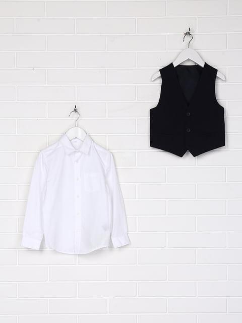 Комплект: рубашка, галстук и жилет C&A 5179503