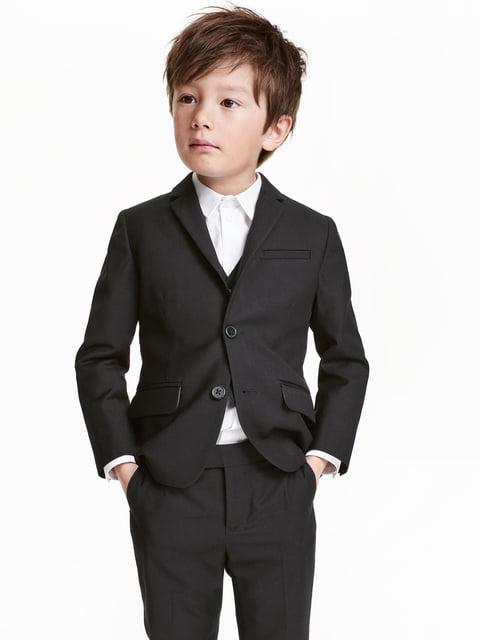 Пиджак черный H&M 5196075
