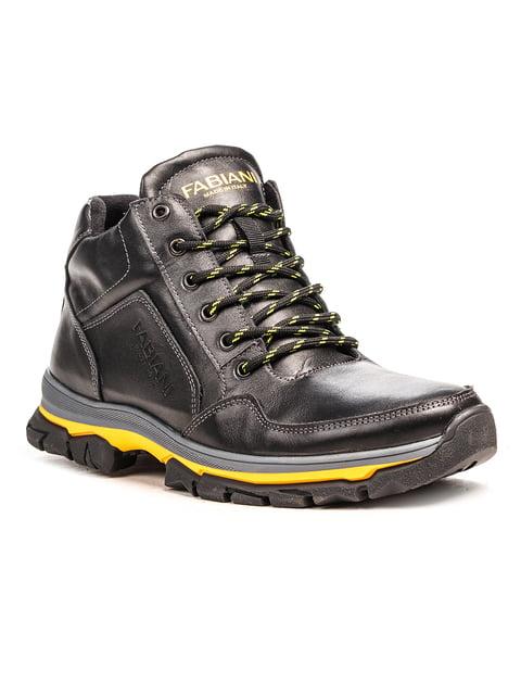 Ботинки черные Fabiani 5183084