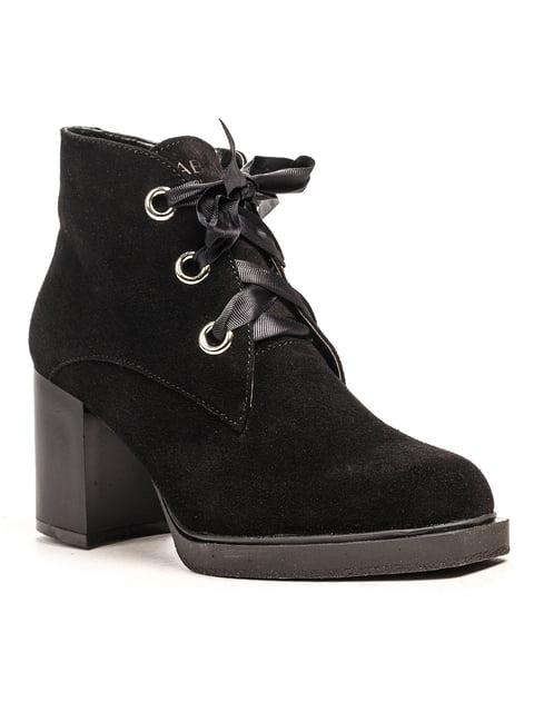 Ботинки черные Fabiani 5194511
