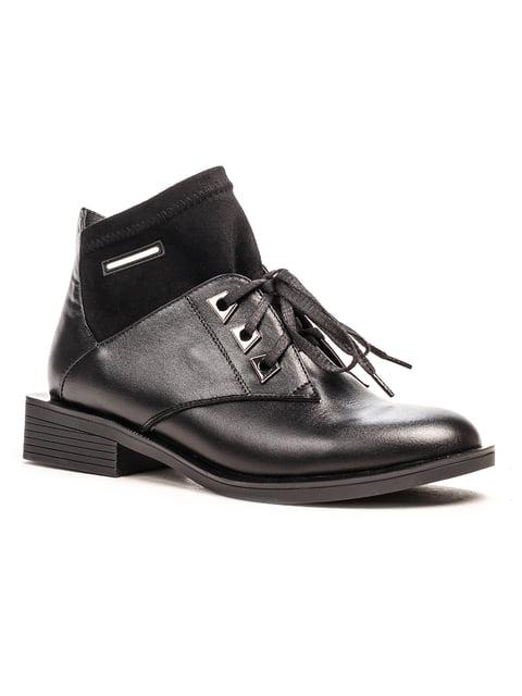 Ботинки черные Fabiani 5194510