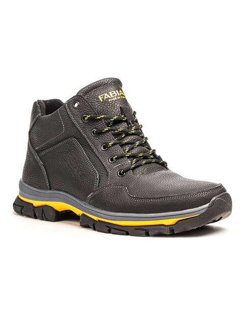 Ботинки черные Fabiani 5183086