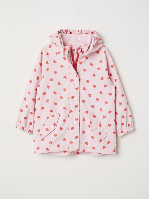 Дощовик рожевий у принт H&M 5196577