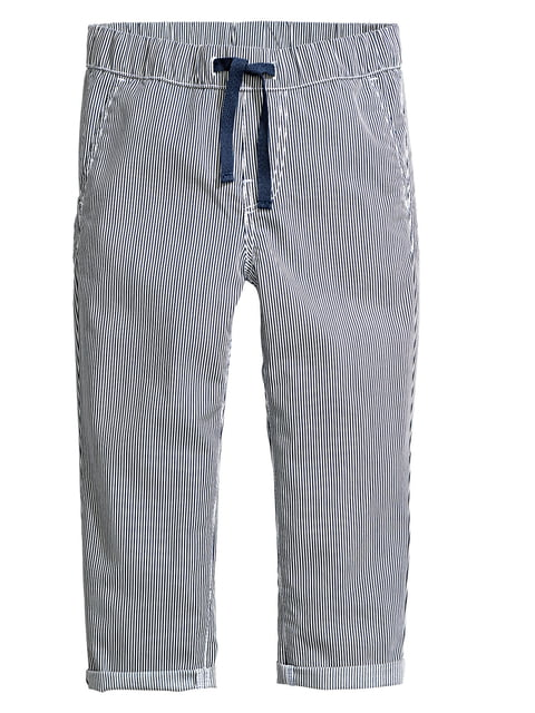 Штани сині в смужку H&M 5196655