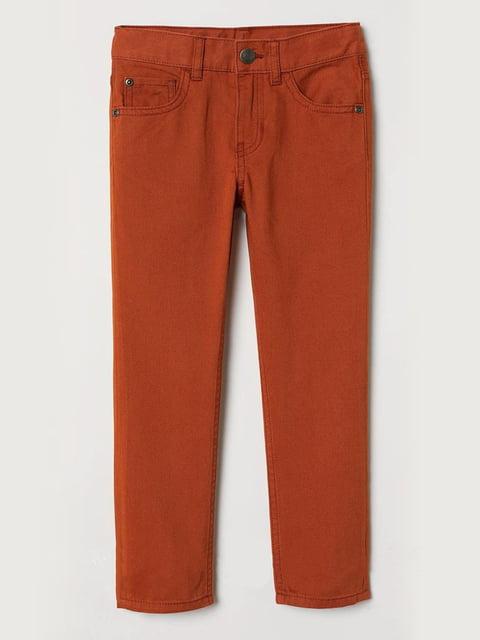 Джинсы коричневые H&M 5196804