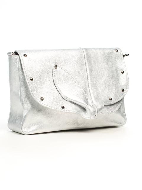 Сумка срібляста Amelie Pelletteria 5196555