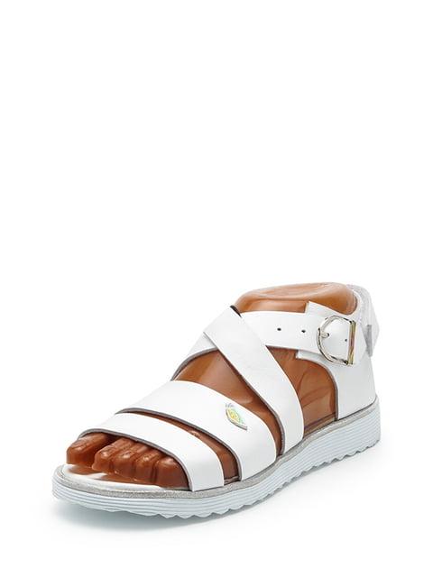 Сандалии белые Broni 5198586