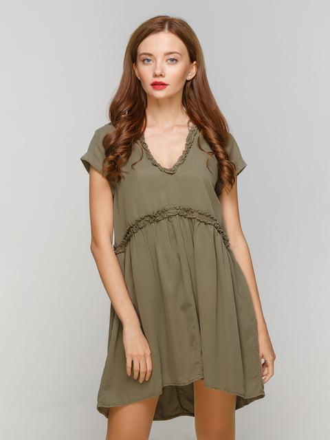 Сукня кольору хакі Zara 4874077
