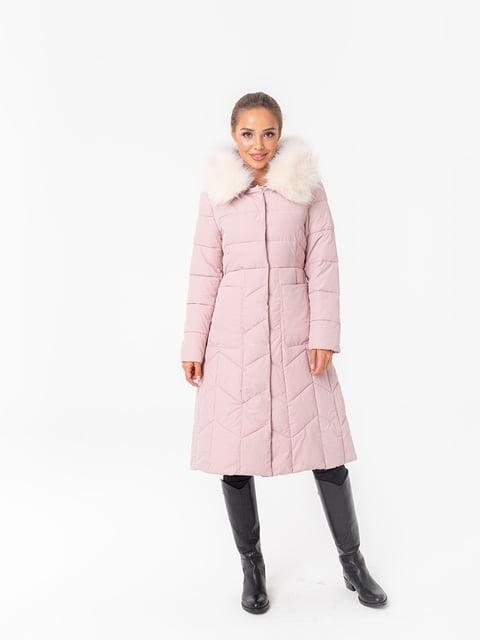 Куртка рожева White Fox 5200208