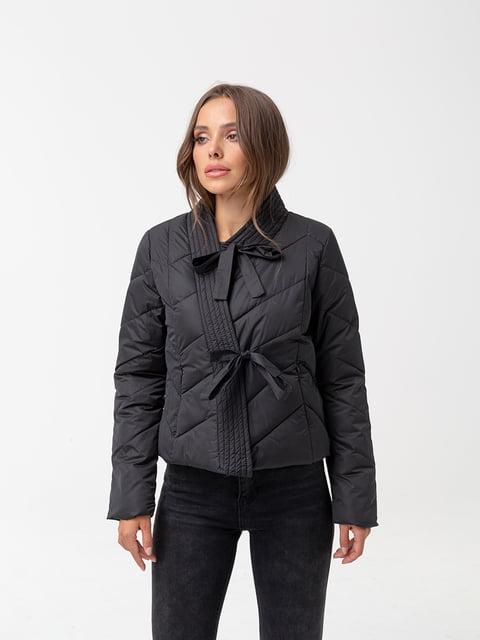 Куртка чорна White Fox 5200243