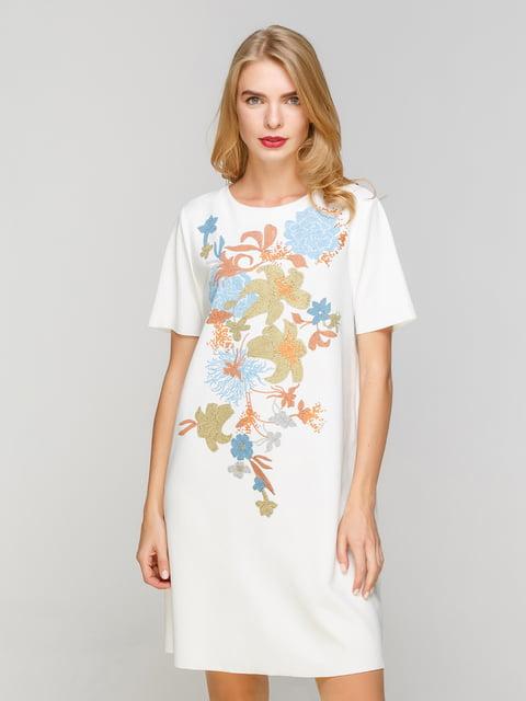Сукня біла з принтом Zara 4873726