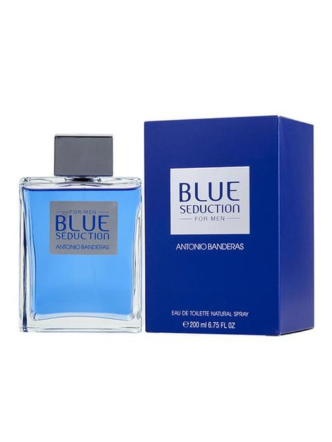 Туалетная вода Blue Seduction Man (200 мл) Antonio Banderas 4606943