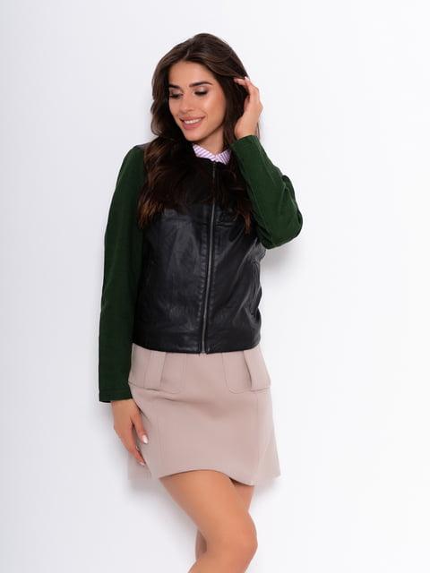 Куртка чорно-зелена Magnet 5200530