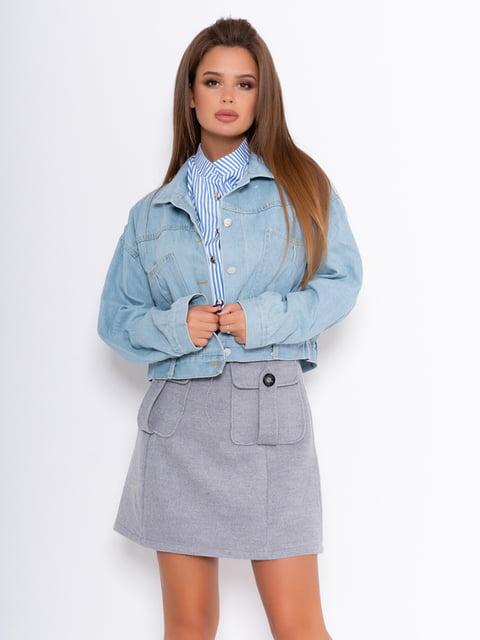 Куртка голубая Magnet 5200667