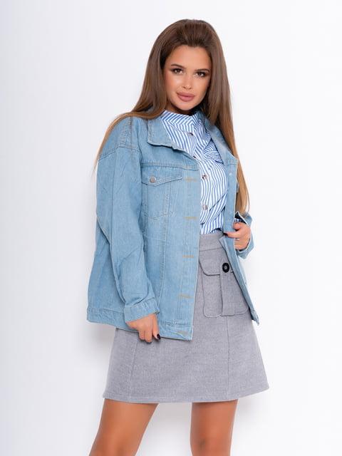 Куртка голубая Magnet 5200668
