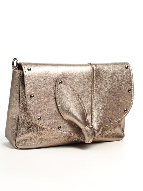 Сумка бронзового кольору Amelie Pelletteria 5196557