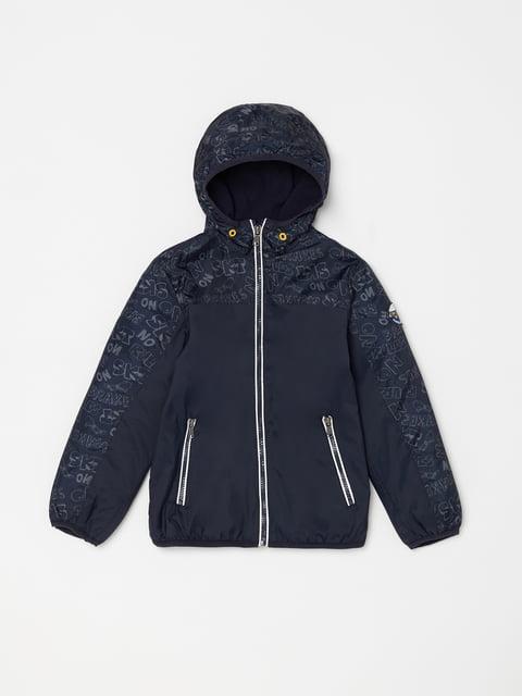 Куртка темно-синя Oviesse 5166623