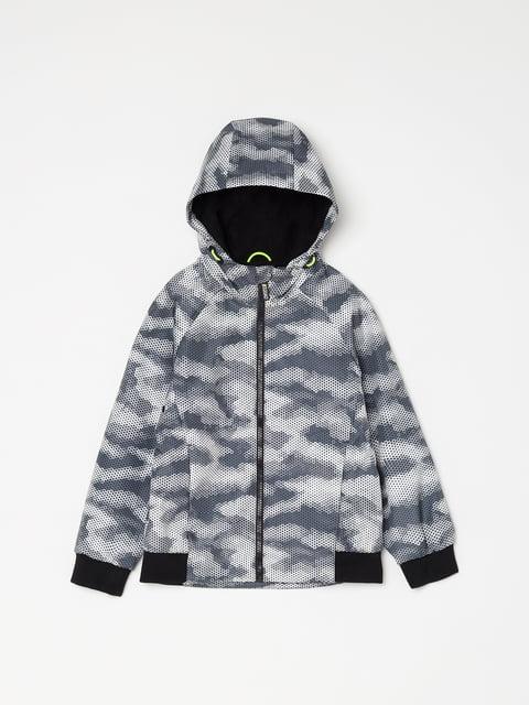 Куртка серая в принт Oviesse 5166626