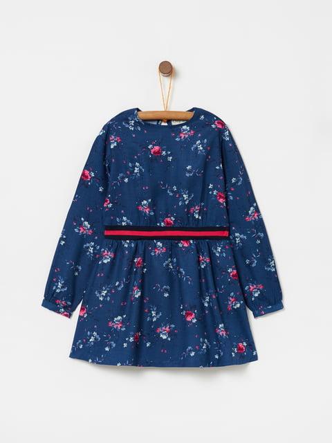 Платье синее в принт Oviesse 5166659