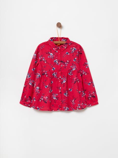 Рубашка красная в принт Oviesse 5166663