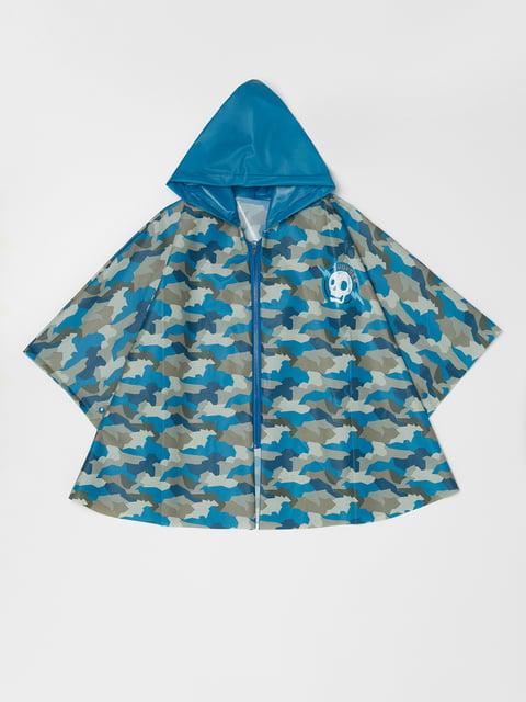 Дощовик блакитний у принт Oviesse 5183543