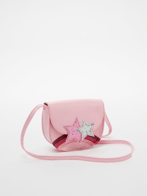 Сумка рожева Oviesse 5183564