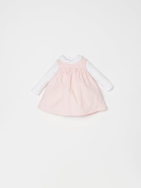 Платье розово-белое Oviesse 5183712