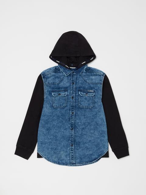 Толстовка сине-черная Oviesse 5183785