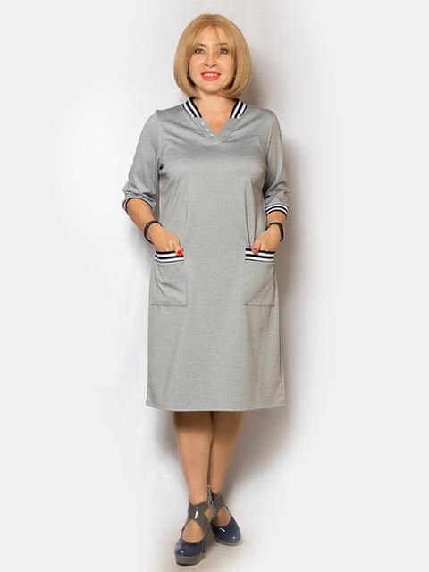 Платье серое LibeAmore 5200942